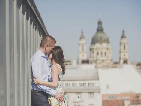 Jegyesfotózás Budapesten LB-Mediart esküvői fotózás Budapest Wedding Photography